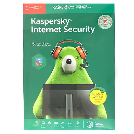 Phần Mềm KASPERKEY INTERNET SECURITY 1 PC 2019