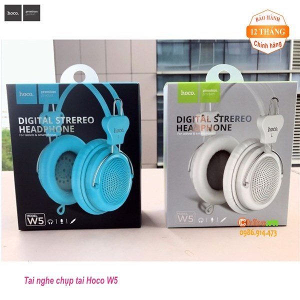 HEADPHONE HOCO W5